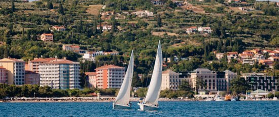 Sailing the Adriatic Sea Slovenia