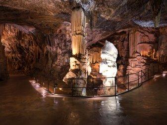 Postojna Cave Predjama Castle Slovenia